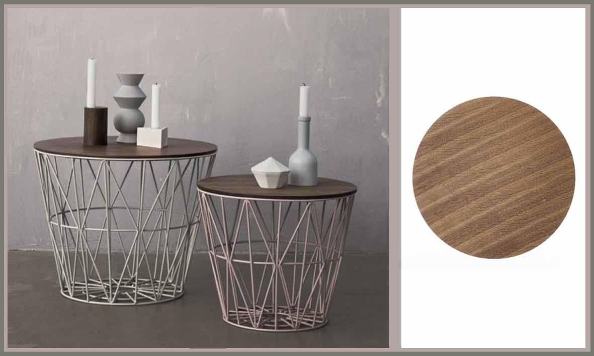 korb tisch. Black Bedroom Furniture Sets. Home Design Ideas