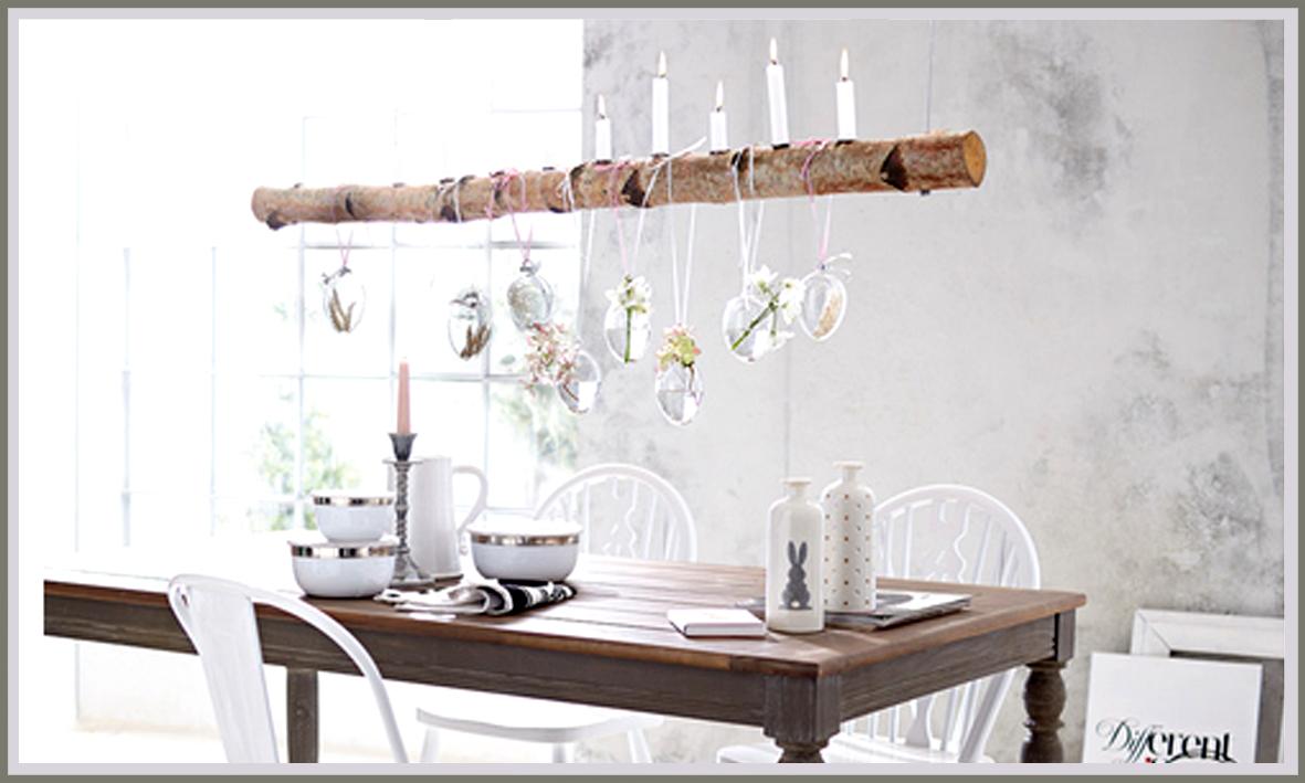 Holz hanf papier und noch eine birken idee - Birken dekoration ...